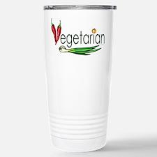 Vegetarian Trio Stainless Steel Travel Mug