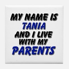 my name is tania and I live with my parents Tile C