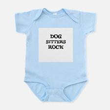 DOG SITTERS ROCK Infant Creeper