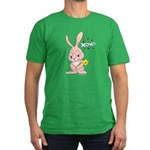 Love Bunny Men's Fitted T-Shirt (dark)