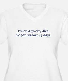 I'm on a 30 day diet.. T-Shirt