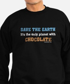 Save the earth! It's the only Sweatshirt (dark)