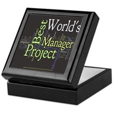 World's Best Project Manager Keepsake Box