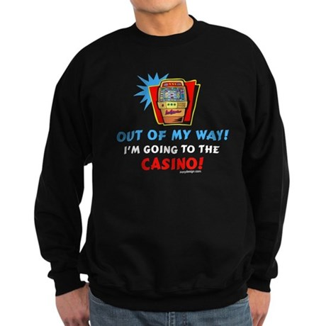 Out of my way! Sweatshirt (dark)