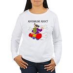 Adrenaline Addict Women's Long Sleeve T-Shirt