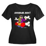 Adrenaline Addict Women's Plus Size Scoop Neck Dar