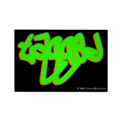 Tagged Rectangle Magnet (100 pack)