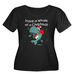Have a whale of a Christmas T