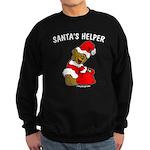SANTA'S HELPER Sweatshirt (dark)