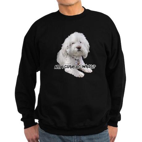 Bichon Frise Dog Sweatshirt (dark)