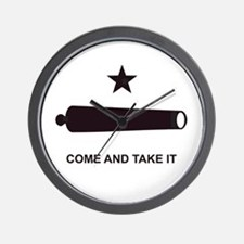 """GONZALES FLAG"" Wall Clock"