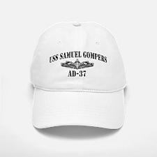 USS SAMUEL GOMPERS Baseball Baseball Cap
