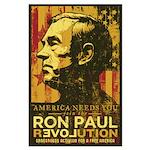 Ron Paul Revolution Large Poster