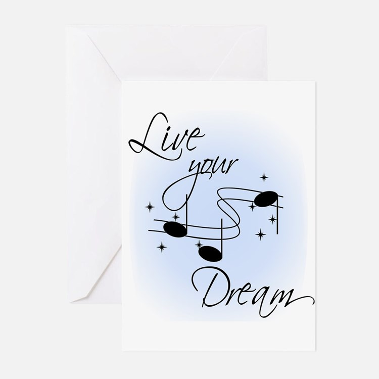 Live Your Dream Greeting Cards (Pk of 20)