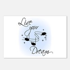 Live Your Dream Postcards (Package of 8)