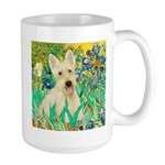 Irises / Scottie (w) Large Mug