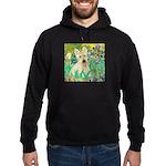 Irises / Scottie (w) Hoodie (dark)