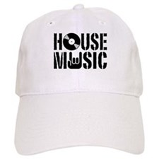 House Music Baseball Baseball Cap