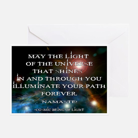 Light of the Universe...Greeting Card