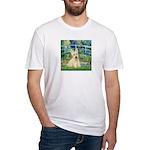 Bridge / Scottie (w) Fitted T-Shirt