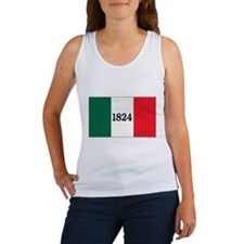 """FLAG OF THE TEXAS ALAMO"" Women's Tank Top"