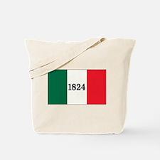 """""""FLAG OF THE TEXAS ALAMO"""" Tote Bag"""