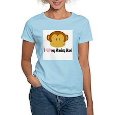 I love my Monkey Man! T-Shirt