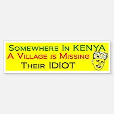 Somewhere in KENYA village is Missing Their Idiot