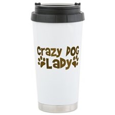 Crazy Dog Lady Travel Mug