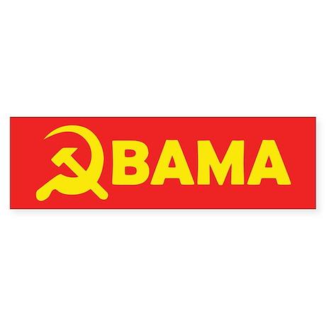 Obama Hammer & Sickle Bumper Sticker