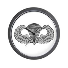 Airborne Paratrooper Jump Wings Wall Clock
