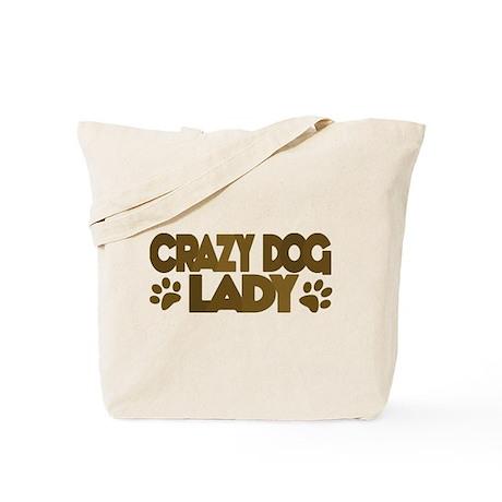 Crazy Dog Lady Tote Bag