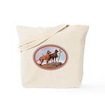 Three Great Danes Tote Bag