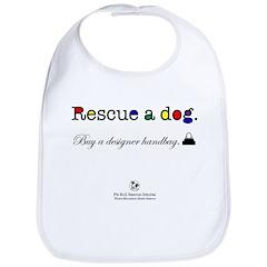 Rescue A Dog Bib