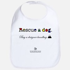 Rescue A Dog Bib