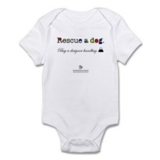 Rescue A Dog Infant Bodysuit