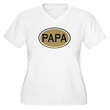 Papa Oval T-Shirt