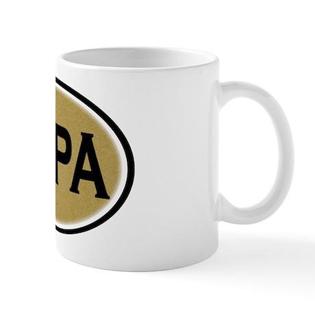 Papa Oval Mug