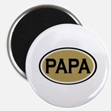 Papa Oval Magnet