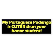 Cuter Portuguese Podengo Bumper Bumper Bumper Sticker