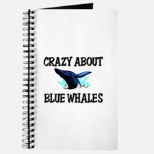 Crazy About Blue Whales Journal
