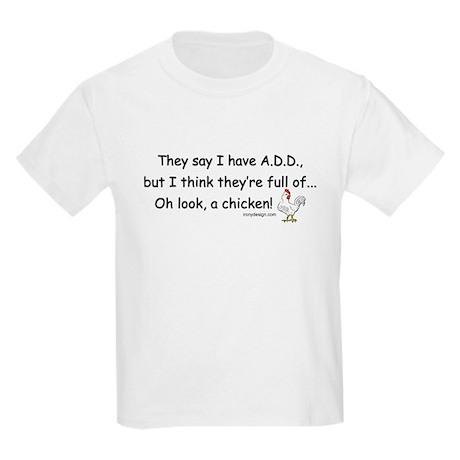 ADD full of Chicken Humor Kids Light T-Shirt