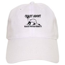 Crazy About Black-Footed Ferrets Baseball Cap