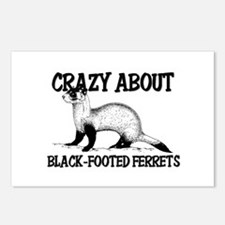 Crazy About Black-Footed Ferrets Postcards (Packag