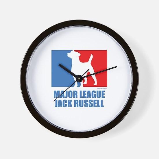 ML Jack Russell Wall Clock