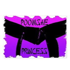 Taekwondo Poomsae Princess Postcards (Package of 8