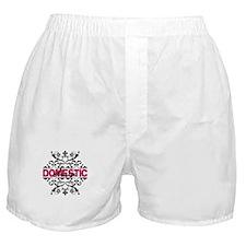 Domestic Diva Boxer Shorts