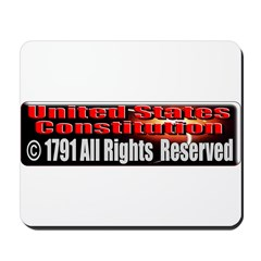 The Constitution Mousepad
