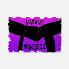 Martial Arts Karate Princess Rectangle Magnet