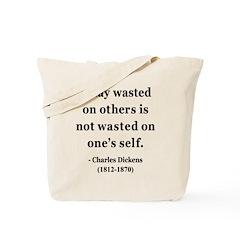 Charles Dickens 20 Tote Bag